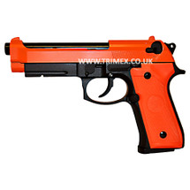SRC SR 92 A1 Gas blow back pistol Full metal in Orange