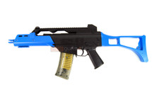 Double Eagle M41GL G36 replica bb gun in blue