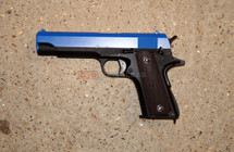 Cyma CM123 Electric Airsoft Pistol AEP in blue