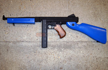 Cyma CM033 Thompson M1A1 AEG in Blue