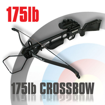 Anglo Arms Jaguar Crossbow Set 175lb With Red Dot Sight in Black