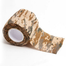 Stealth tape 5cm X 4.5 Metre Desert Digital Camouflage Rifle Wrap