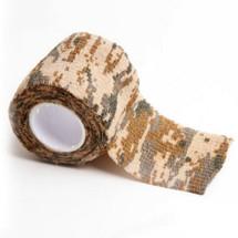 Stealth tape 5cm X 4.5 Metre Desert Digital Camouflage Rifle Wrap