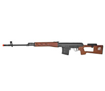 AY Dragunov SVD Spring Rifle in wood finish