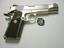 Army Armament M1911 hi kick GBB Full Metal in Silver