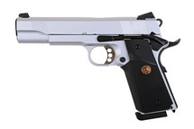 Army Armament M1911 hi kick GBB Full Metal in Silver