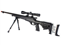 Well MB12 Custom VSR10 Airsoft Sniper Rifle in Black