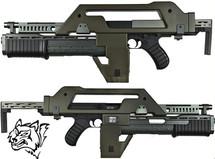 snow wolf m41a pulse rifle