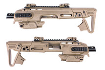 CAA RONI G1 Glock Pistol Carbine Conversion Kit in Tan