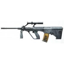 APS Kompetitor Steyr Aug1 Para Model AEG In Snake Camo