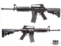 G&D AR-15 Full Metal Carbine DTW AEG in Black