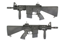 A&K M4 CQB-01 with Gas Block Rail Accessory System