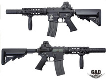 G&D GD-9556 M4 CQB SD DTW MAX3 AEG Rifle in Black