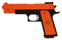 Double Eagle P169 Colt 1911 Pistol bb gun in orange