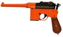 Double Eagle M32 Mauser BB Gun pistol in Orange