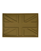 Tactical Patch PVC Union Jack Patch in tan