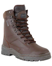 Kombat Patrol Boots All Leather in Brown