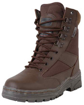 Kombat Patrol Boots Half Leather in Brown