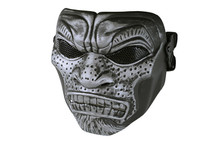 Cannibal Airsoft Mask MAS-59 in Silver