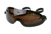 Brown Lightweight Tactical Airsoft Goggles