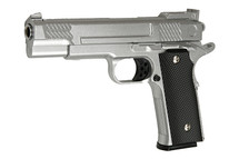 Galaxy G20 M945 Full Metal Pistol in Silver