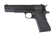 Army Armament M1911 Replica GBB Full Metal Black