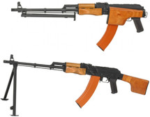 CYMA CM052S RPK LMG with Folding Stock in Real Wood and Black