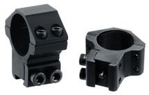 UTG Leapers Accushot Mounts Medium Profile Airgun Rings w/Stop Pin