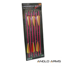 Aluminium Crossbow Bolts 6 X 16 inch