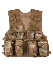 Kids Tactical Assault Vest in BTP camo