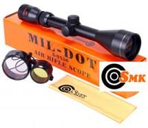 SMK 3-9 x 50 Mil-Dot Rifle scope Sight Hunting and Shooting Optics