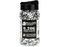 Bulldog Ultra Mix pellets 2000 x 0.20g Black-White