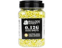 Bulldog Ultra Mix pellets 5000 x 0.12g Yellow-White