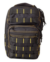 mini molle recon shoulder bag - black / yellow