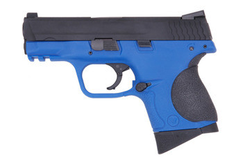 WE Little Bird 3.8 M&P GBB Pistol in Blue