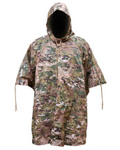 Waterproof Poncho US Army Style in Multicam