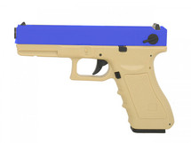 Army Armament G17 Replica GBB V3 In Tan and Blue