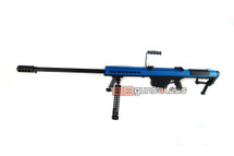 Snow Wolf SW-13 Metal M107A1 Sniper Rifle AEG in blue