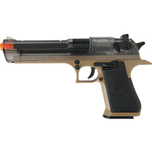 War inc pistol DE .50AE Transparent Smoky Finish