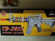 Copy of Kids Toy gun M4 TD-2022 in silver