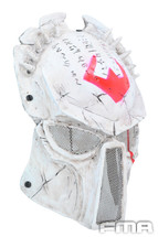 Wolf 6 Mask in White Resin Airsoft Mask