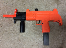 Double Eagle M35L UZI Spring Pistol in Orange