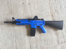 Well D3814 M4 Fully Auto BB Gun in Blue
