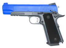 WELL G194 Co2 GBB 1911 Full Metal Pistol in Blue