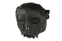 Airsoft Fantasy Warrior Skull Mask in black