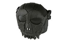 Airsoft Fantasy Warrior Skull Mask in black