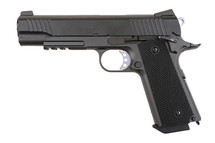 WELL G194 Colt 1911 Co2 GBB Full Metal Pistol in black