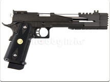 WE HI CAPA 7.0 hi cappa Gas Blowback Pistol in black
