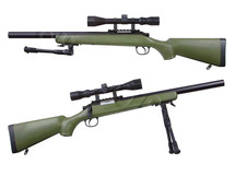 Well MB02 VSR10 Spring Sniper Rifle in Army Green