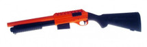 Double Eagle M47A1 Shotgun with a Solid Stock in Orange